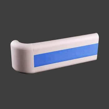 Best Selling 140mm Hospital PVC Handrail with Light Blue Color + XY140-06