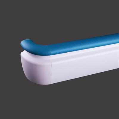 143mm Diameter PVC with Aluminium Retainer Crashworthy Handrail + XY143