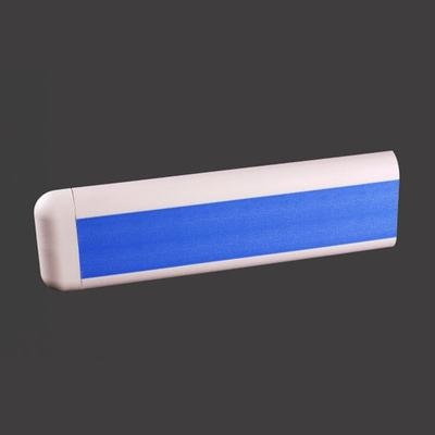 102mm Blue Color PVC with Aluminium Retainer Wall Protection + XY102-12