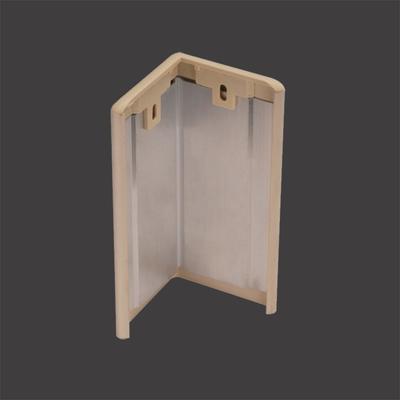 Factory Price 76mm Plastic Corner Guard + XY76-18