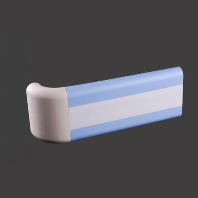 Two Line blue color PVC Corridor Handrail  +XY140